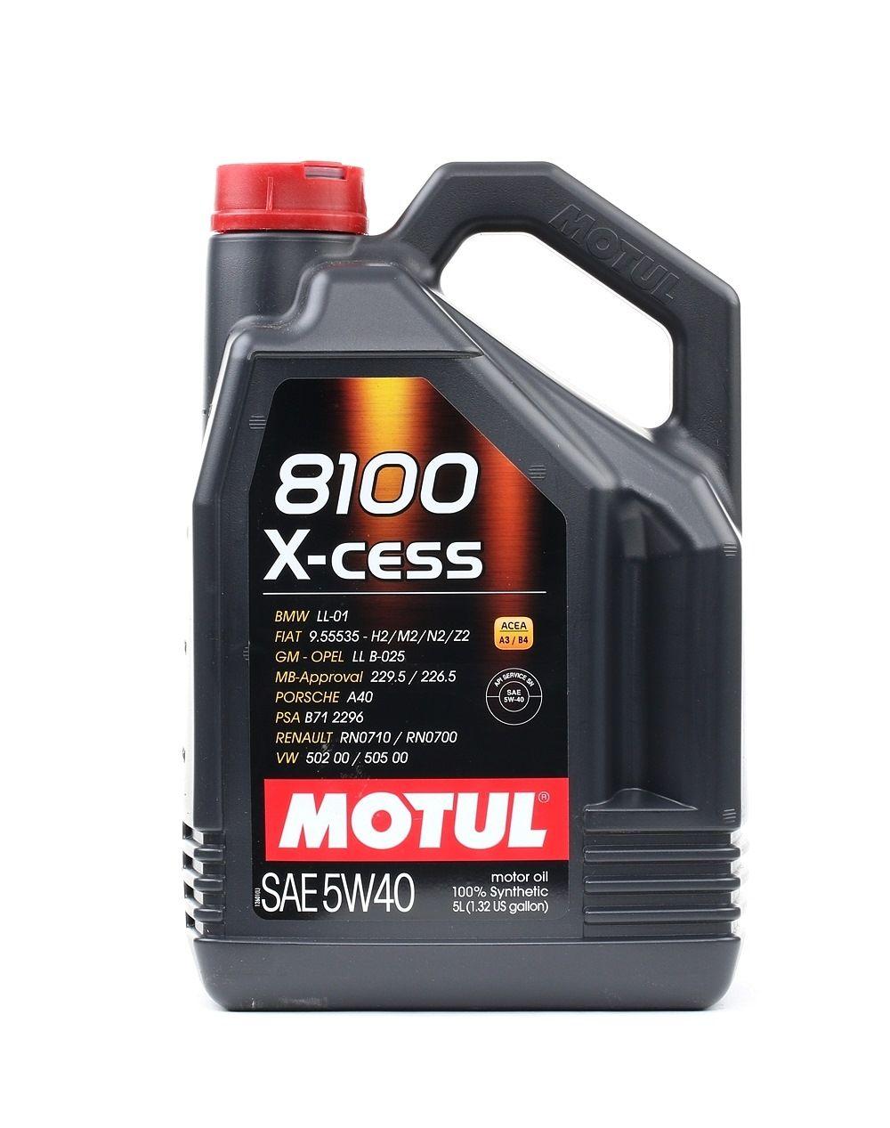 Acquistare ricambi originali MOTUL Olio motore X-CESS 102870