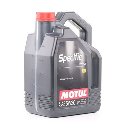SPECIFIC229525W30 MOTUL SPECIFIC, 229.52 5W-30, 5l, Vollsynthetiköl Motoröl 104845 günstig kaufen