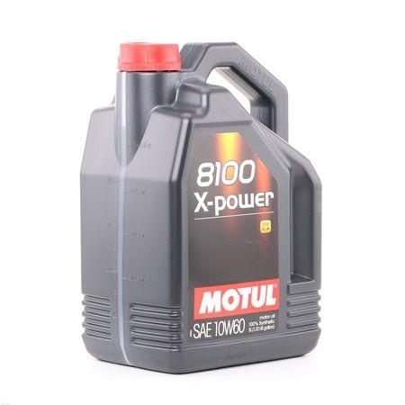 Qualitäts Öl von MOTUL 3374650256559 10W-60, 5l, Synthetiköl