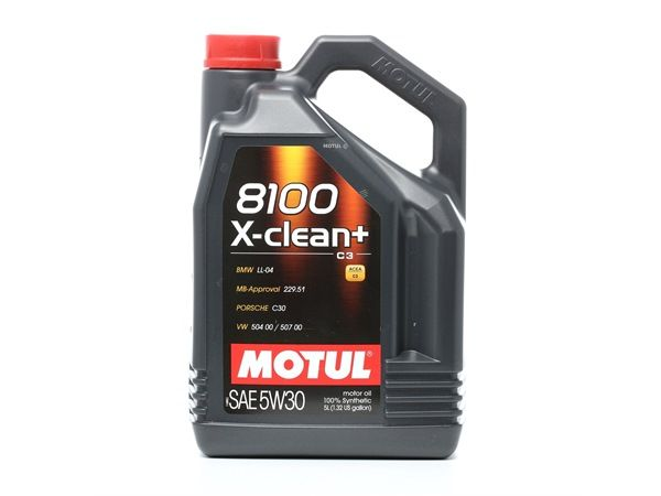 Qualitäts Öl von MOTUL 3374650257723 5W-30, 5l, Synthetiköl