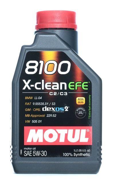originali MOTUL Olio motore 3374650262888 5W-30, 1l, Olio sintetico