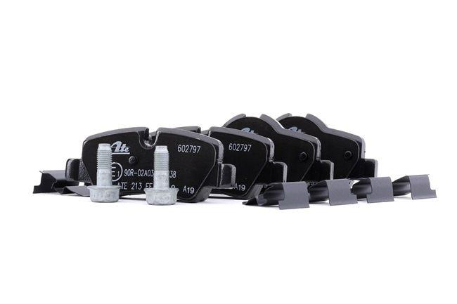 ATE: Original Bremsanlage 13.0460-2797.2 (Höhe 1: 44,7mm, Höhe 2: 38,8mm, Breite 1: 99,6mm, Breite 2: 99,5mm, Dicke/Stärke: 16,8mm)
