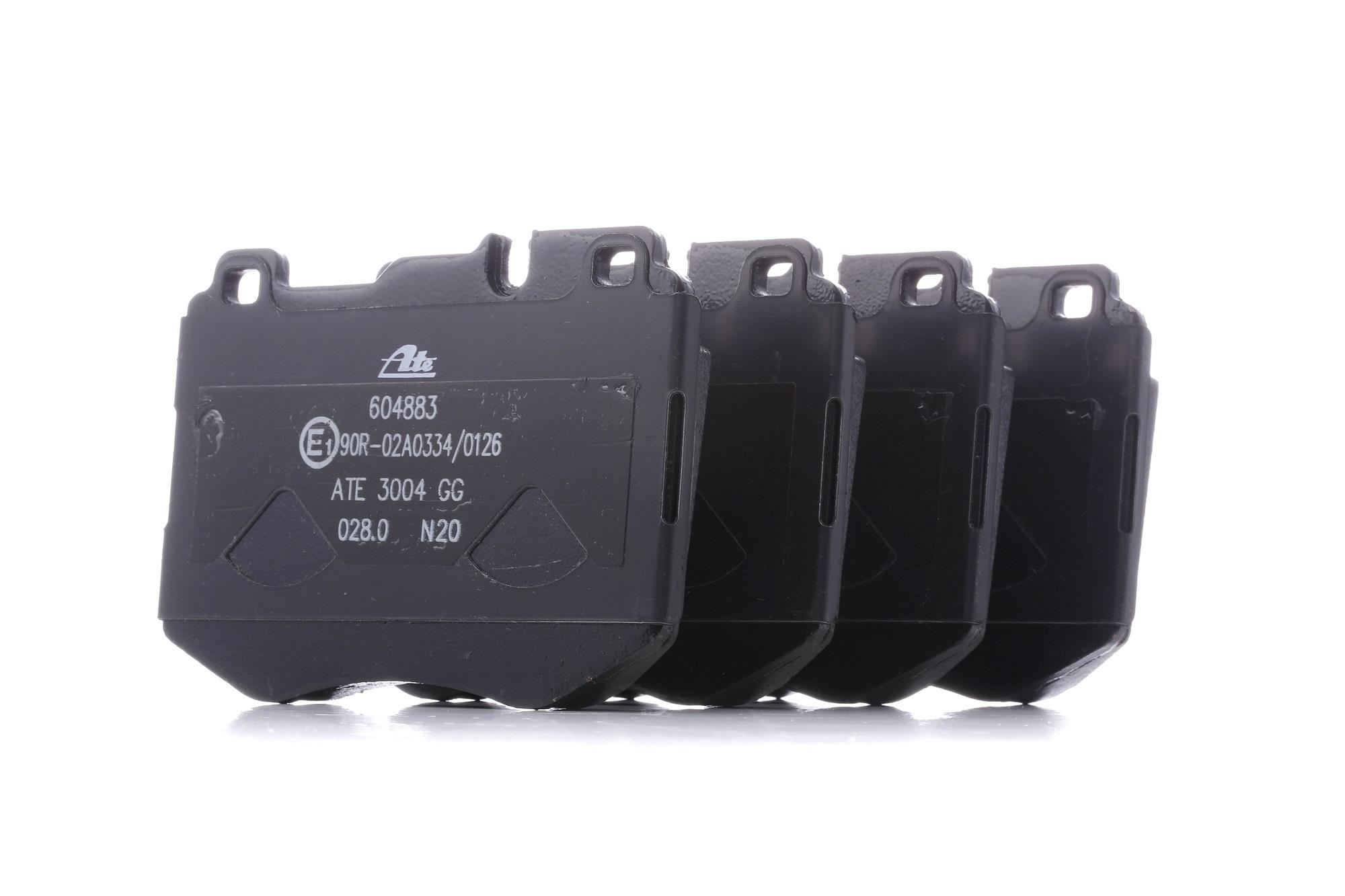 MERCEDES-BENZ CLS 2014 Tuning - Original ATE 13.0460-4883.2 Höhe: 92,1mm, Breite: 127,5mm, Dicke/Stärke: 18,7mm