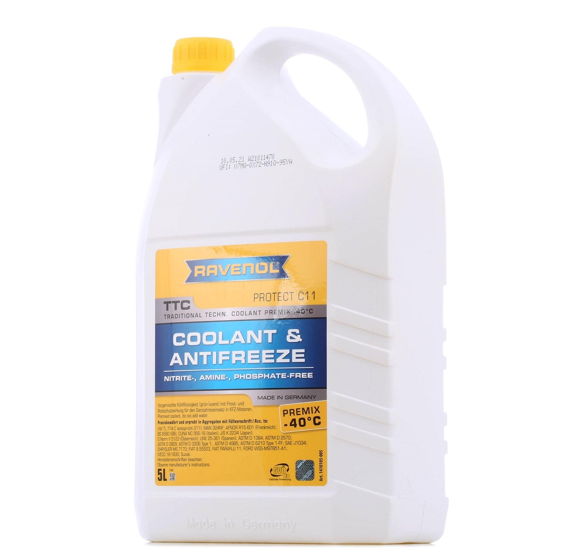 RAVENOL: Original Kühlerfrostschutzmittel 1410105-005-01-999 (G11)