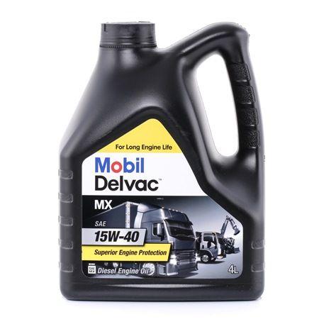 originali MOBIL Olio motore 5055107427033 15W-40, 4l