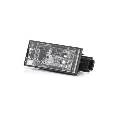 Nummernschildbeleuchtung 15-0221-00-2 Clio III Schrägheck (BR0/1, CR0/1) 1.5 dCi 86 PS Premium Autoteile-Angebot