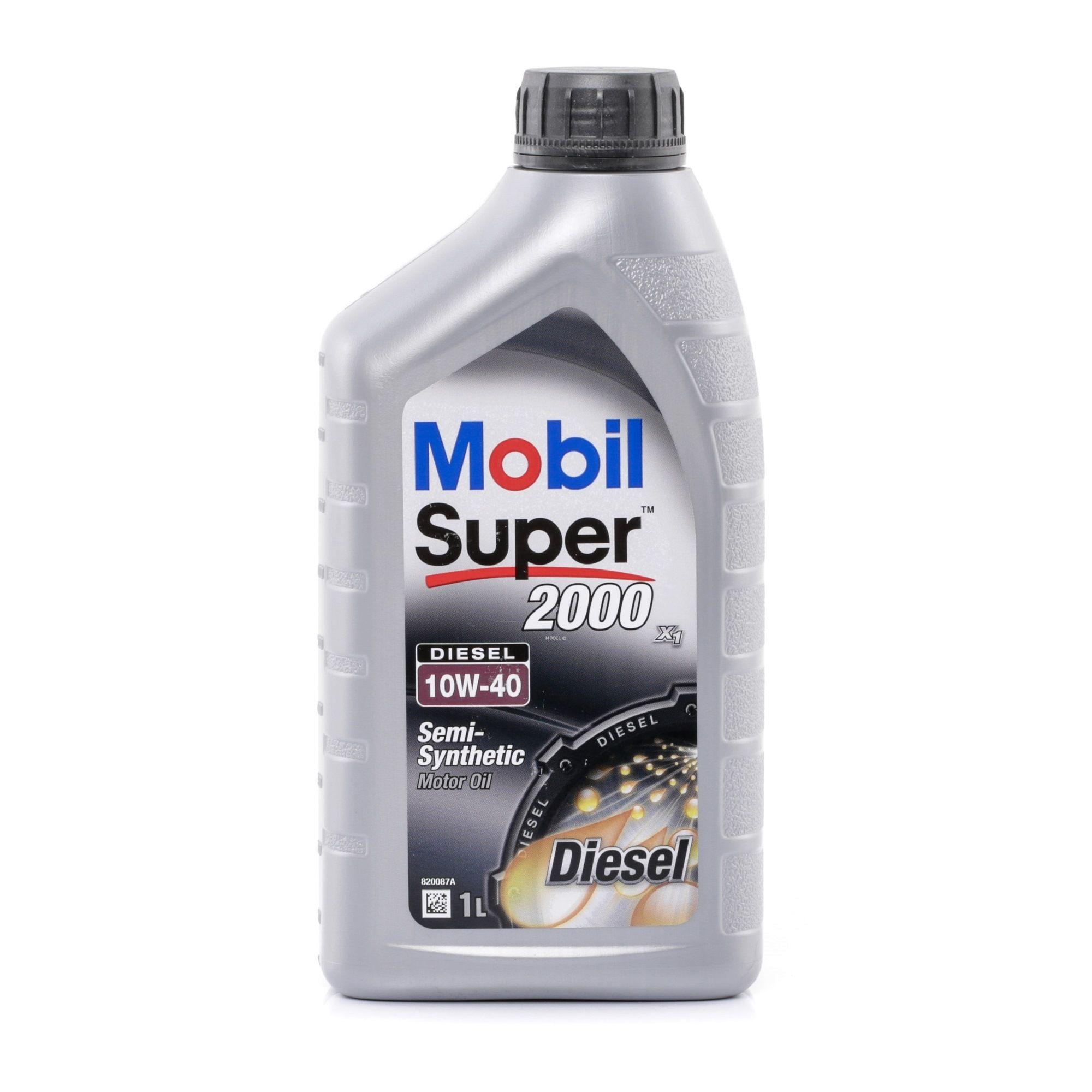 Motorový olej 150868 s vynikajícím poměrem mezi cenou a MOBIL kvalitou