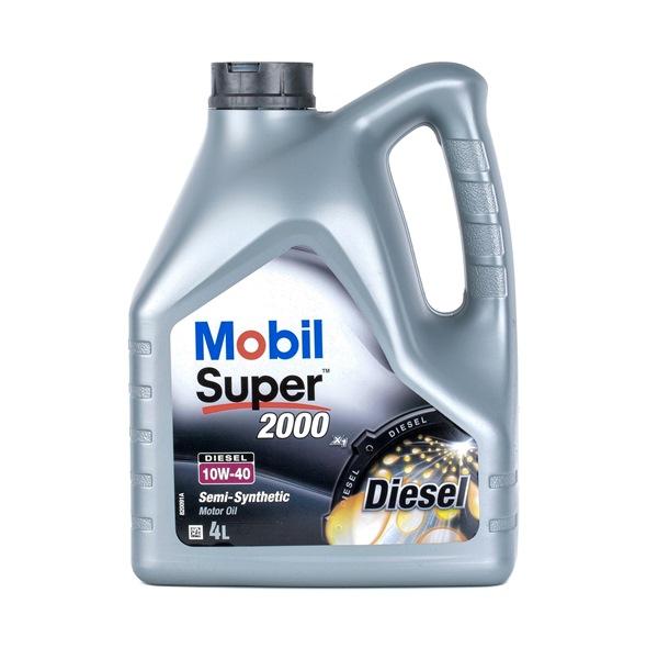 Qualitäts Öl von MOBIL 30010249 10W-40, 4l, Teilsynthetiköl