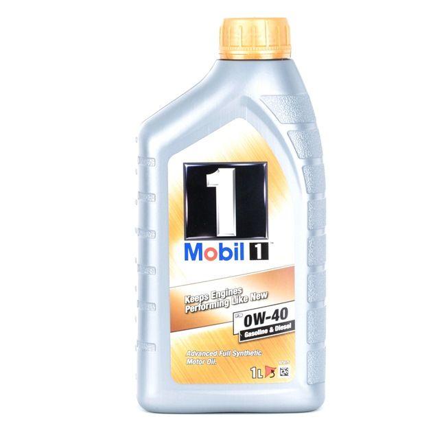 originali MOBIL Olio motore per auto 2506450297642 0W-40, 1l, Olio sintetico