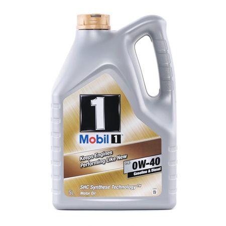 AAEGroupB7 MOBIL FS, Mobil1 0W-40, 5l, Synthetiköl Motoröl 153678 günstig kaufen