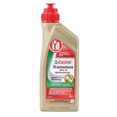 Propshafts and differentials 154EE9 with an exceptional CASTROL price-performance ratio