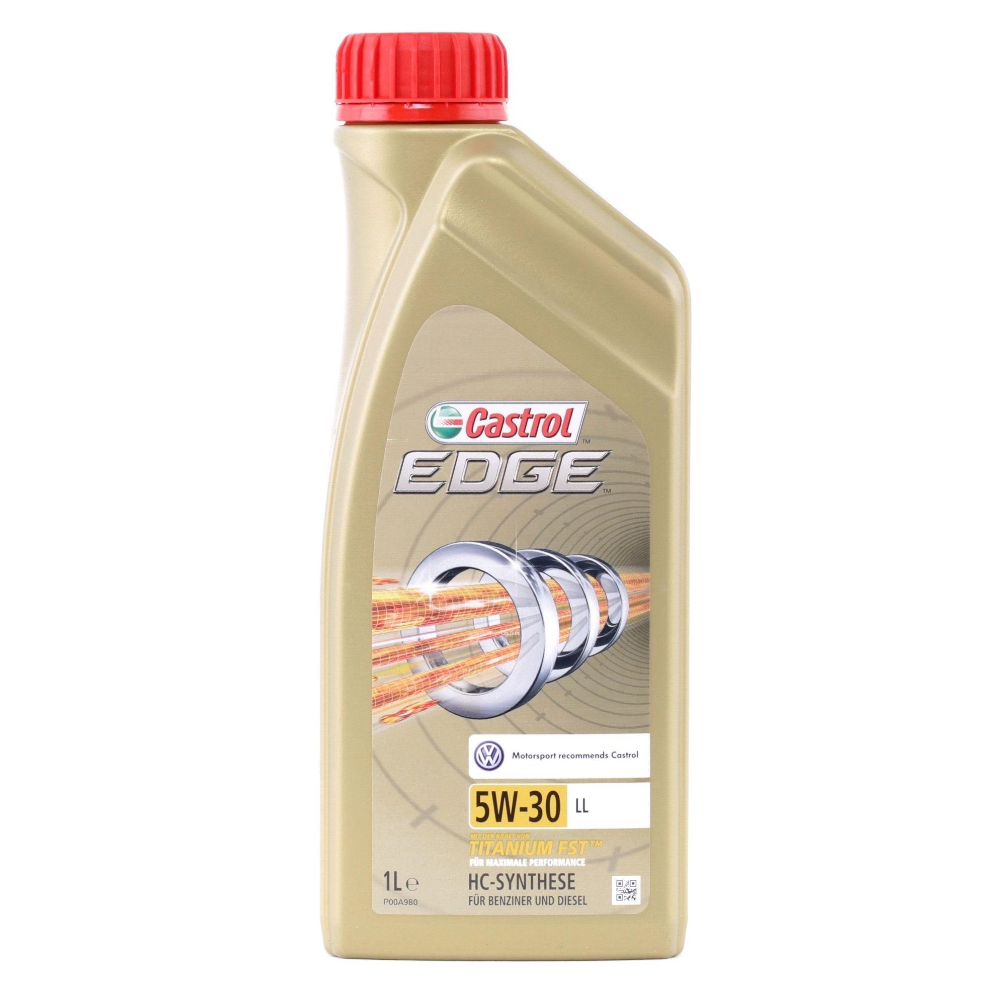 MB2293 CASTROL EDGE, LL 5W-30, 1l, Synthetiköl Motoröl 15665F günstig kaufen