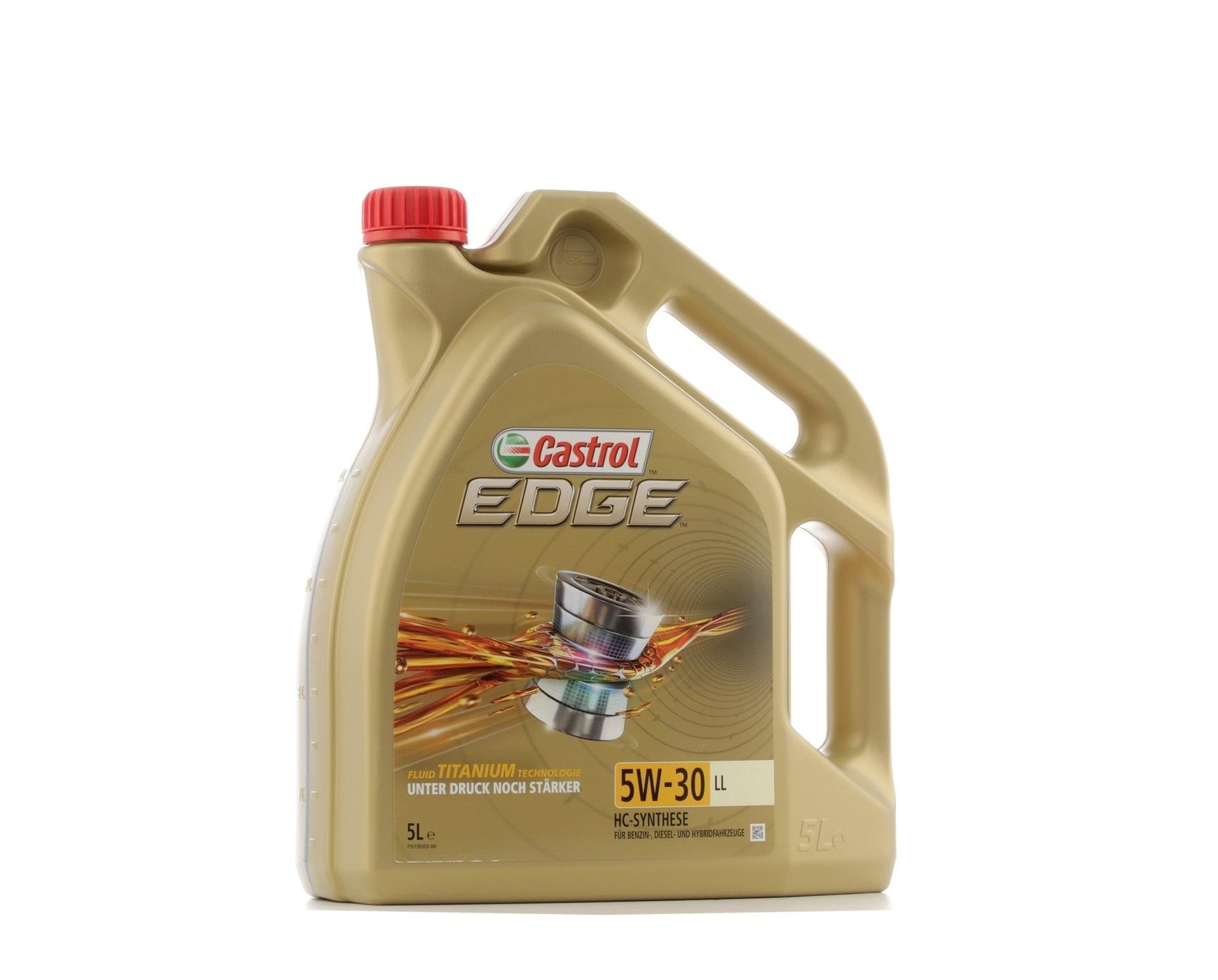 ACEALightDutyC3 CASTROL EDGE, LL 5W-30, 5l, Synthetiköl Motoröl 15669E kaufen