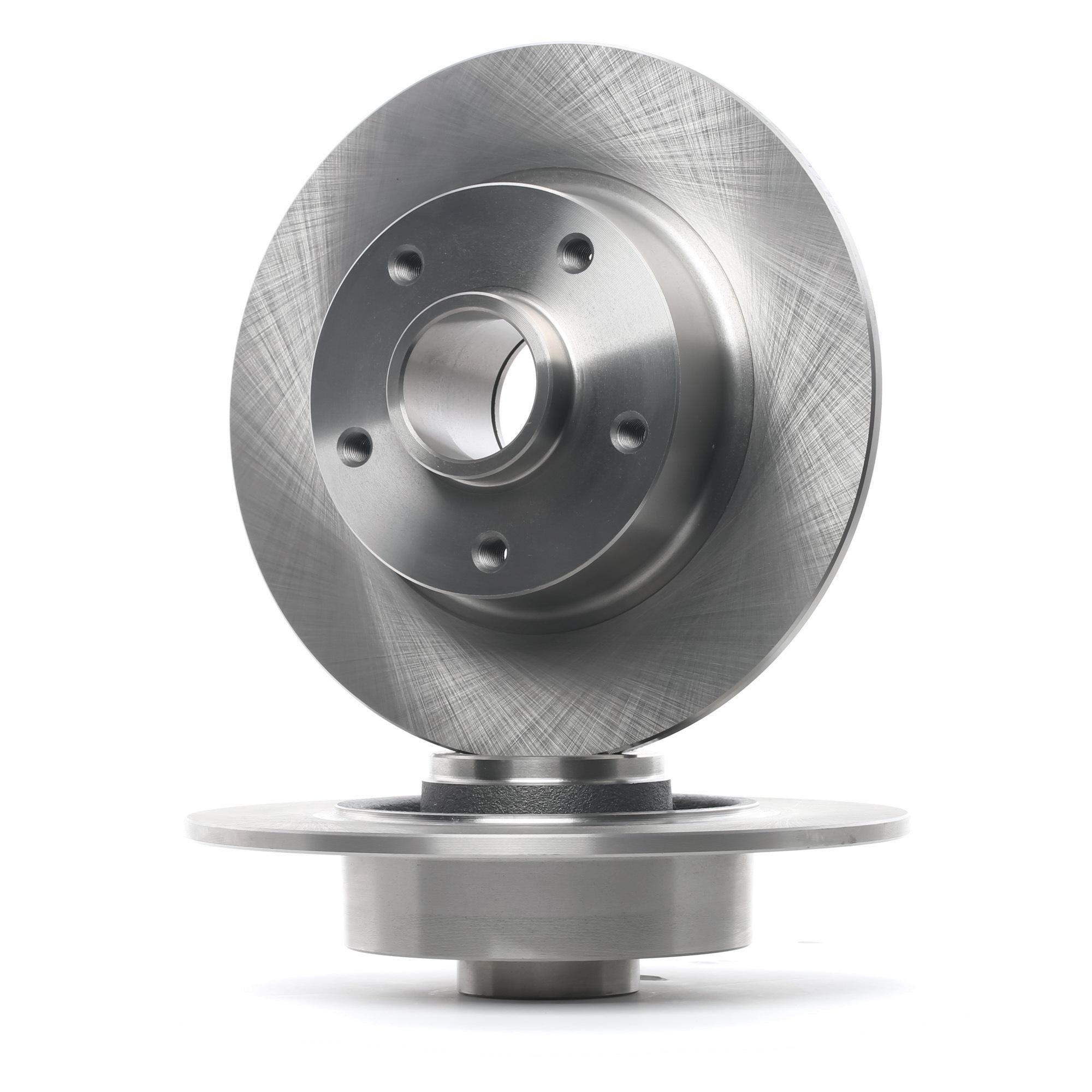 MBD1415 MEYLE ORIGINAL Quality, Hinterachse, Voll, ohne Radlager Ø: 260mm, Lochanzahl: 5, Bremsscheibendicke: 8mm Bremsscheibe 16-15 523 0024 günstig kaufen