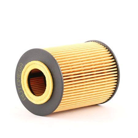 180037710 AUTOMEGA Filtereinsatz Innendurchmesser: 25mm, Ø: 63mm, Höhe: 83mm Ölfilter 180037710 günstig kaufen