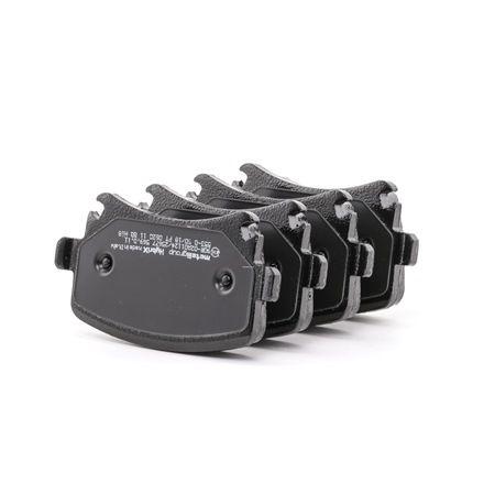 Bremsbelagsatz, Scheibenbremse 22-0553-0 — aktuelle Top OE 1K0 698 451 Ersatzteile-Angebote