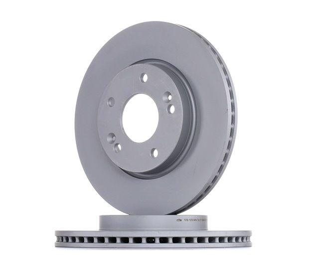 ATE: Original Kfz-Bremsen 24.0123-0123.1 (Ø: 280,0mm, Lochanzahl: 5, Bremsscheibendicke: 23,1mm)
