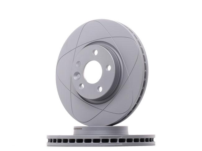 528154 ATE PowerDisc Geventileerd, Gecoat, High carbon, Met schroeven Ø: 300,0mm, Aantal gaten: 5, Remschijfdikte: 28,0mm Remschijf 24.0328-0154.1