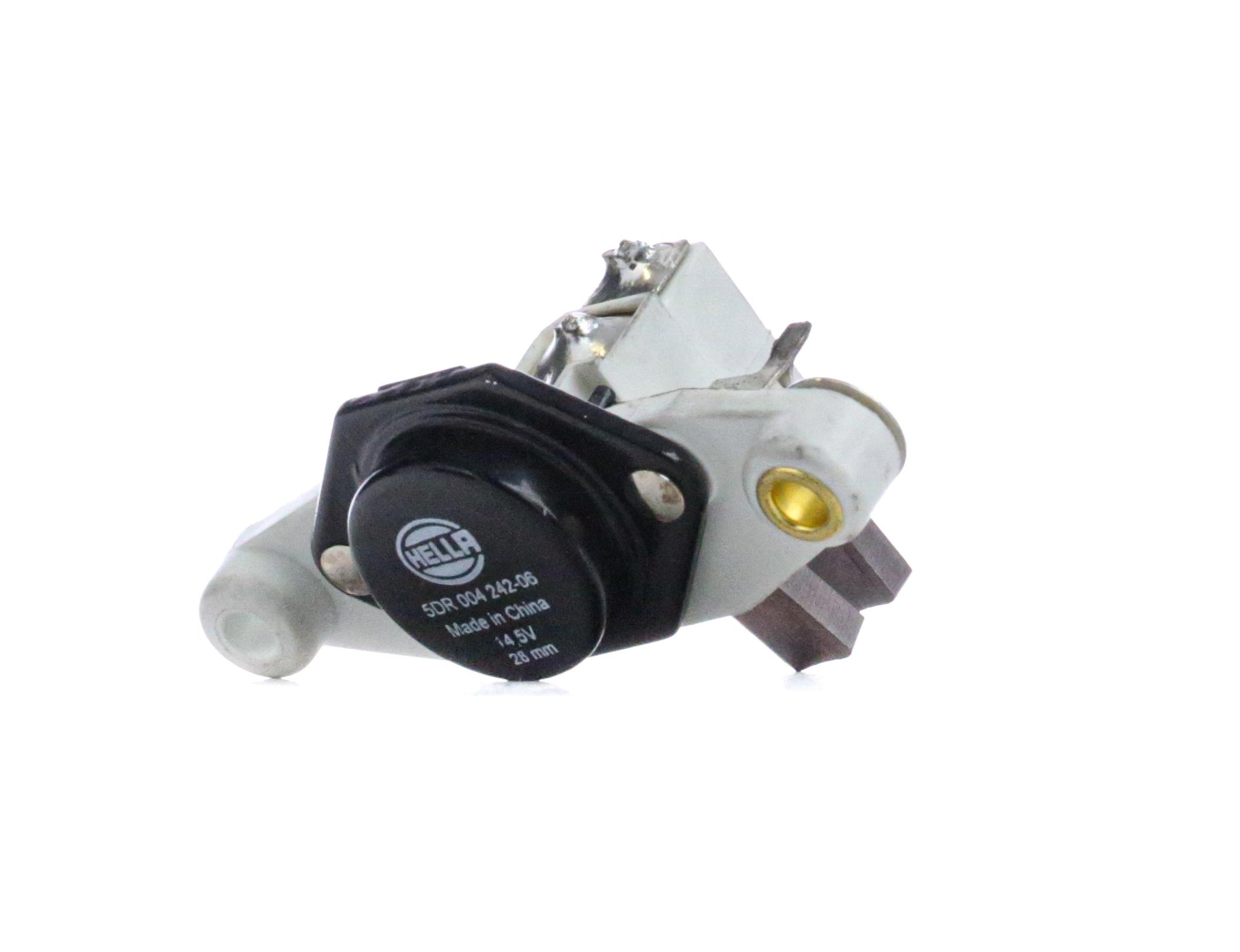 AUDI 80 1992 Regler Lichtmaschine - Original HELLA 5DR 004 242-061 Nennspannung: 12V, Betriebsspannung: 14,5V