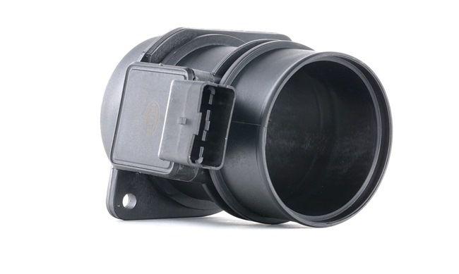 HELLA: Original Luftmengenmesser 8ET 009 142-001 (Saugrohranschluss-Ø: 70mm, Anschlussanzahl: 6)