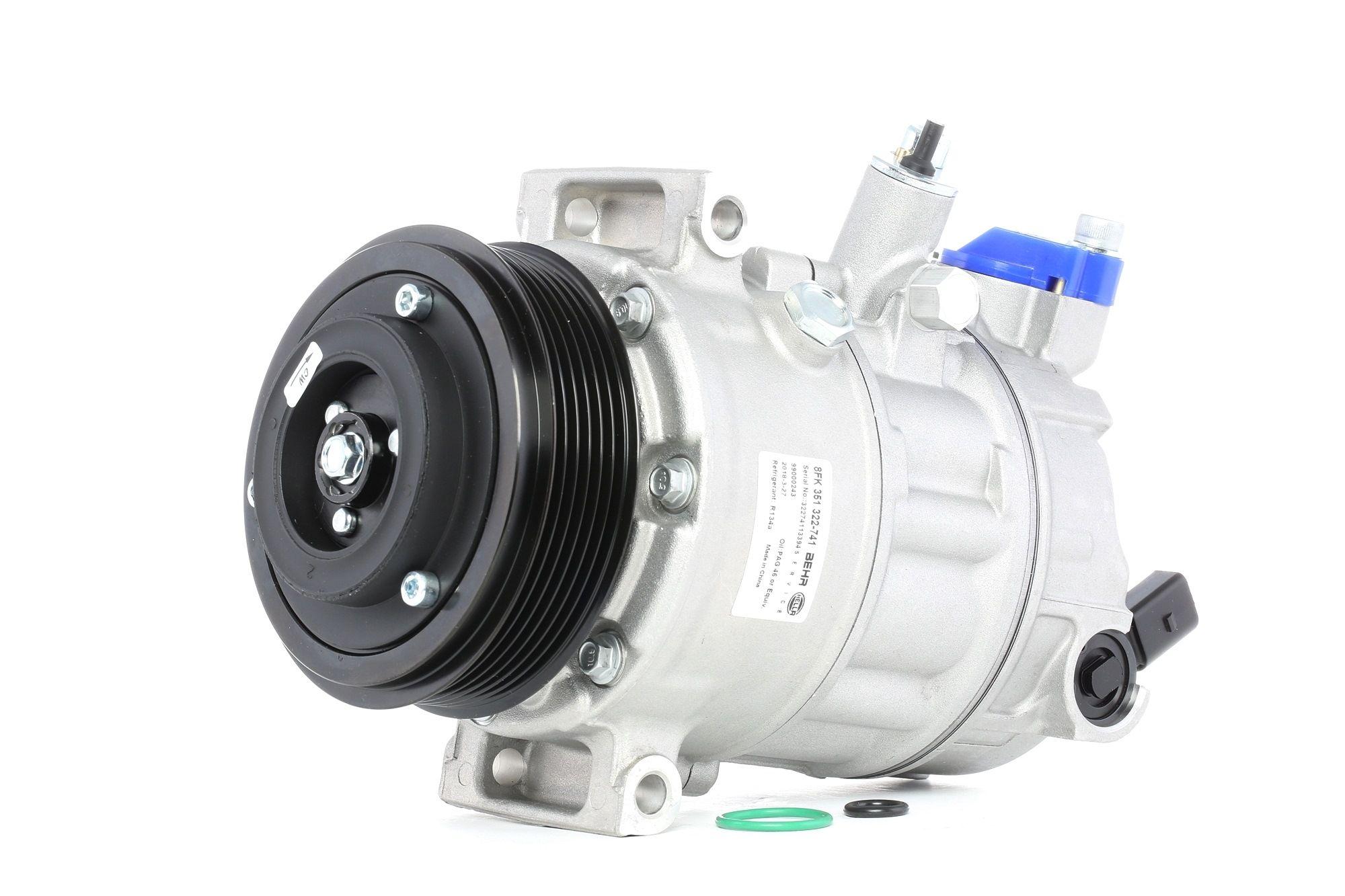 Kompresor, klimatizace 8FK 351 322-741 pro SKODA OCTAVIA ve slevě – kupujte ihned!