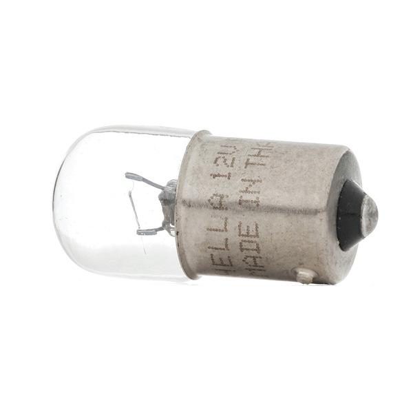 HELLA Glödlampa, skyltbelysning R5W, 12V, 5W 8GA002071121
