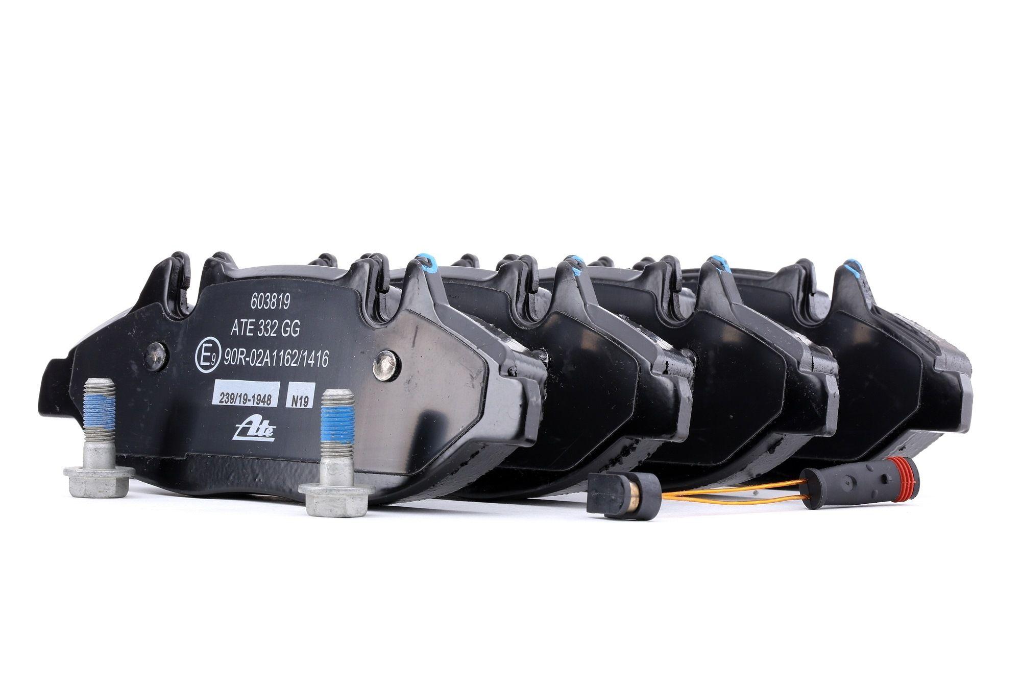 MERCEDES-BENZ VITO 2015 Bremsklötze - Original ATE 13.0460-3819.2 Höhe: 61,8mm, Breite: 164,8mm, Dicke/Stärke: 20,8mm