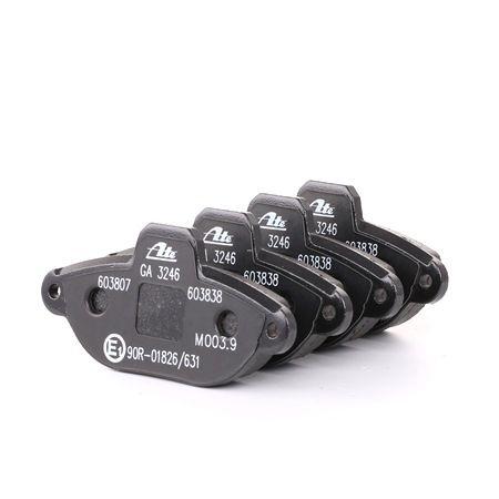 ATE 13.0460-3807.2 Bremsbeläge Bremsbelagsatz vorne für FIAT