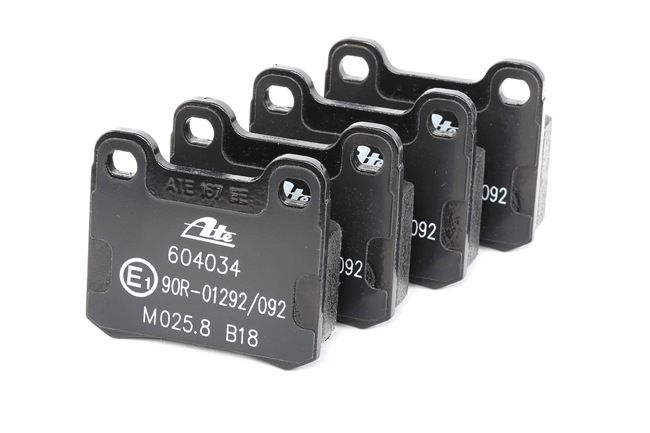 ATE: Original Bremsbeläge 13.0460-4034.2 (Höhe: 54,3mm, Breite: 61,8mm, Dicke/Stärke: 15,5mm) mit vorteilhaften Preis-Leistungs-Verhältnis
