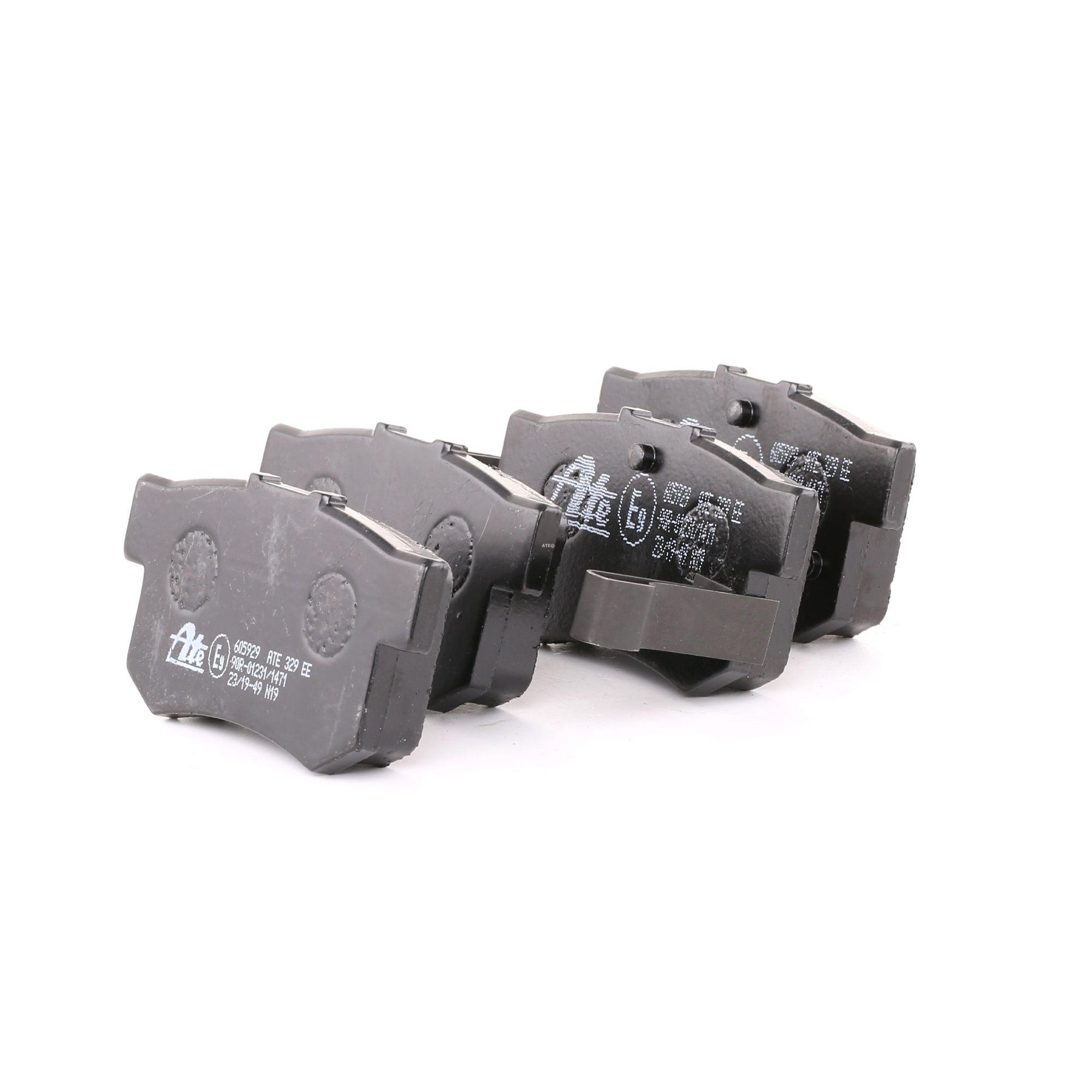 ATE: Original Bremssteine 13.0460-5929.2 (Höhe: 47,1mm, Breite: 88,9mm, Dicke/Stärke: 15,0mm)