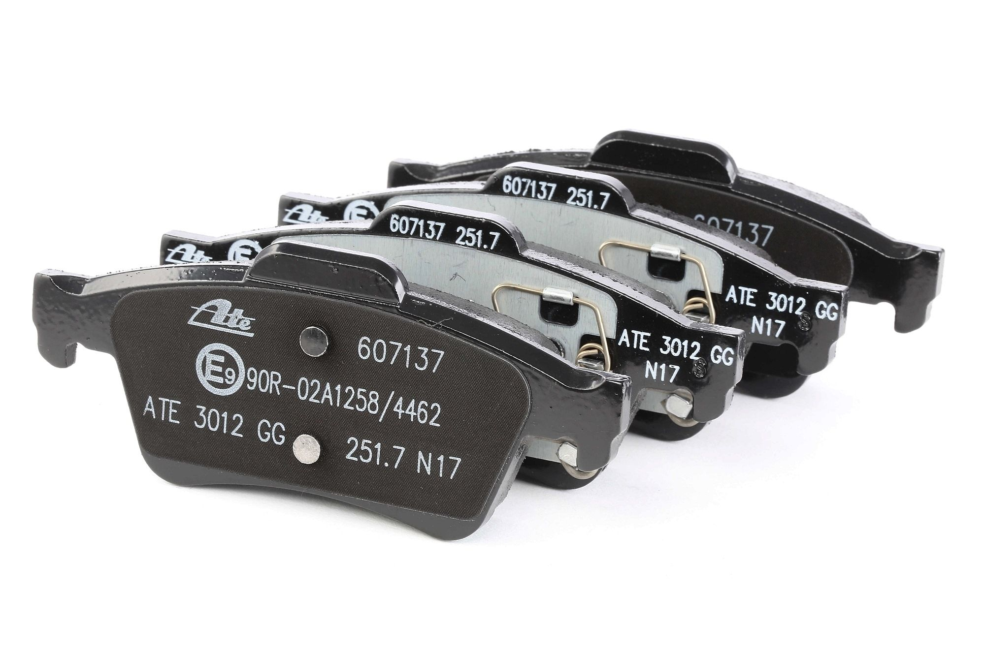 ATE: Original Bremsenteile 13.0460-7137.2 (Höhe: 51,9mm, Breite: 123mm, Dicke/Stärke: 15,8mm)