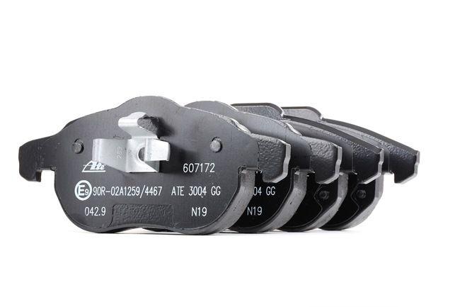 ATE Sada brzdových platničiek kotúčovej brzdy 13.0460-7172.2
