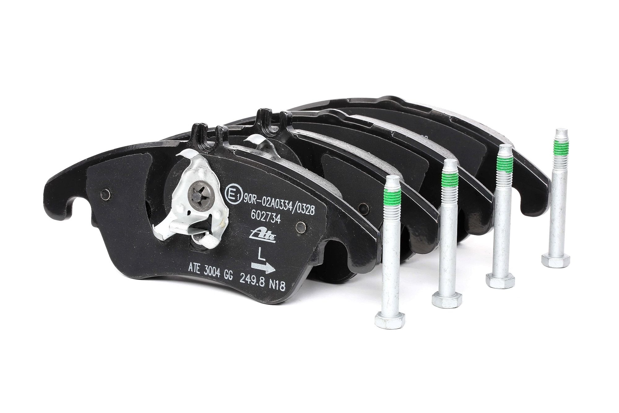 MERCEDES-BENZ C-Klasse 2020 Bremsbelagsatz - Original ATE 13.0470-2734.2 Höhe: 80,8mm, Breite: 188,0mm, Dicke/Stärke: 19,0mm