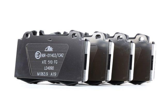 ATE: Original Bremsbeläge 13.0470-4990.2 (Höhe: 71,7mm, Breite: 119,5mm, Dicke/Stärke: 17,4mm) mit vorteilhaften Preis-Leistungs-Verhältnis