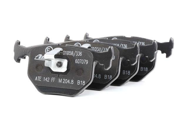 ATE: Original Bremsbelagsatz 13.0470-7079.2 (Höhe: 59,2mm, Breite: 123,0mm, Dicke/Stärke: 17,3mm) mit vorteilhaften Preis-Leistungs-Verhältnis