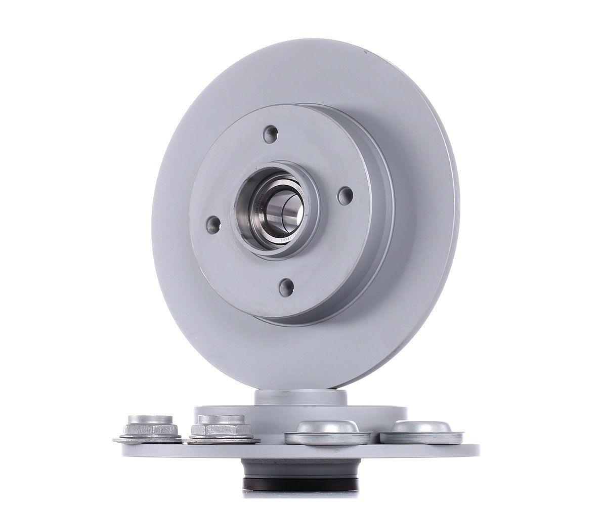 Achetez Disque ATE 24.0109-0100.2 (Ø: 249,0mm, Nbre de trous: 4, Épaisseur du disque de frein: 9,0mm) à un rapport qualité-prix exceptionnel