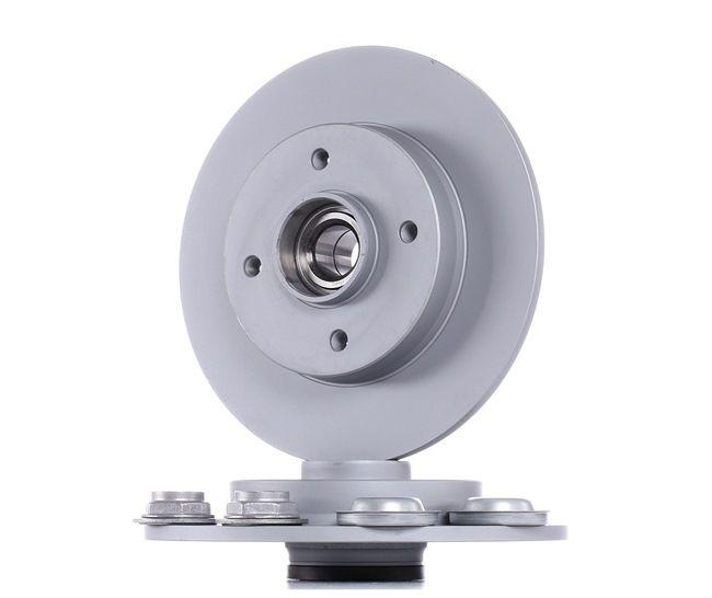 ATE: Original Bremsenteile 24.0109-0100.2 (Ø: 249,0mm, Lochanzahl: 4, Bremsscheibendicke: 9,0mm)