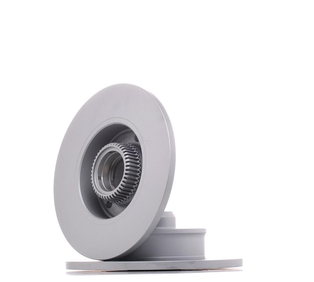 410276 ATE Voll, beschichtet, mit ABS-Sensorring Ø: 226,0mm, Lochanzahl: 5, Bremsscheibendicke: 10,0mm Bremsscheibe 24.0110-0276.2 günstig kaufen
