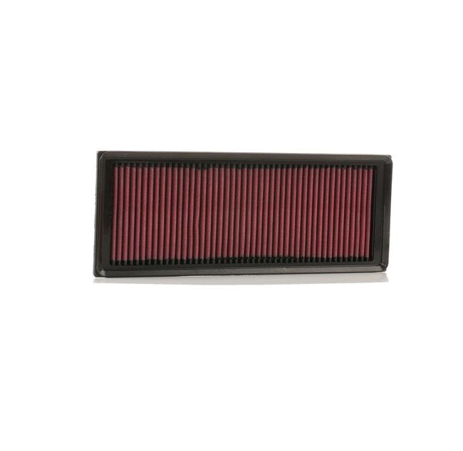 Acheter Filtre à air Longueur: 349mm, Largeur: 135mm, Hauteur: 30mm K&N Filters 33-3039 à tout moment
