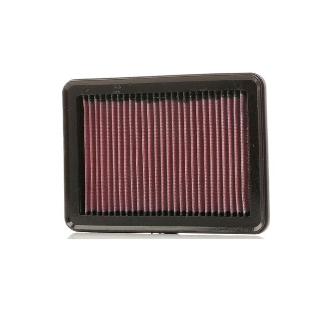 K&N Filters: Original Motorenteile 33-5050 (Länge: 241mm, Breite: 164mm, Höhe: 25mm)