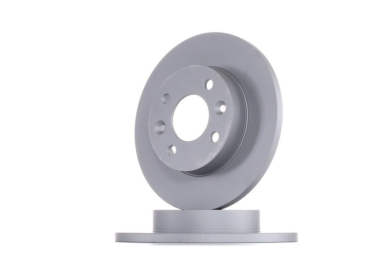 412116 ATE Voll, beschichtet, mit Schrauben Ø: 238,0mm, Lochanzahl: 4, Bremsscheibendicke: 12,0mm Bremsscheibe 24.0112-0116.1 günstig kaufen
