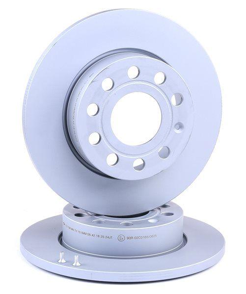 412158 ATE Voll, beschichtet, mit Schrauben Ø: 256,0mm, Lochanzahl: 5, Bremsscheibendicke: 12,0mm Bremsscheibe 24.0112-0158.1 günstig kaufen