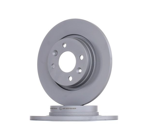 412171 ATE Voll, beschichtet, mit Schrauben Ø: 259,0mm, Lochanzahl: 4, Bremsscheibendicke: 12,0mm Bremsscheibe 24.0112-0171.1 günstig kaufen
