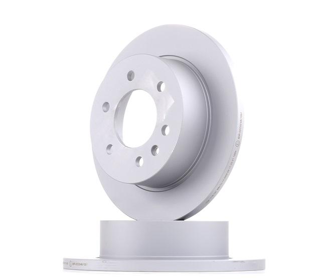 Disco de travão 24.0116-0121.1 — descontos atuais em OE A906 423 0012 peças sobresselentes de primeira qualidade