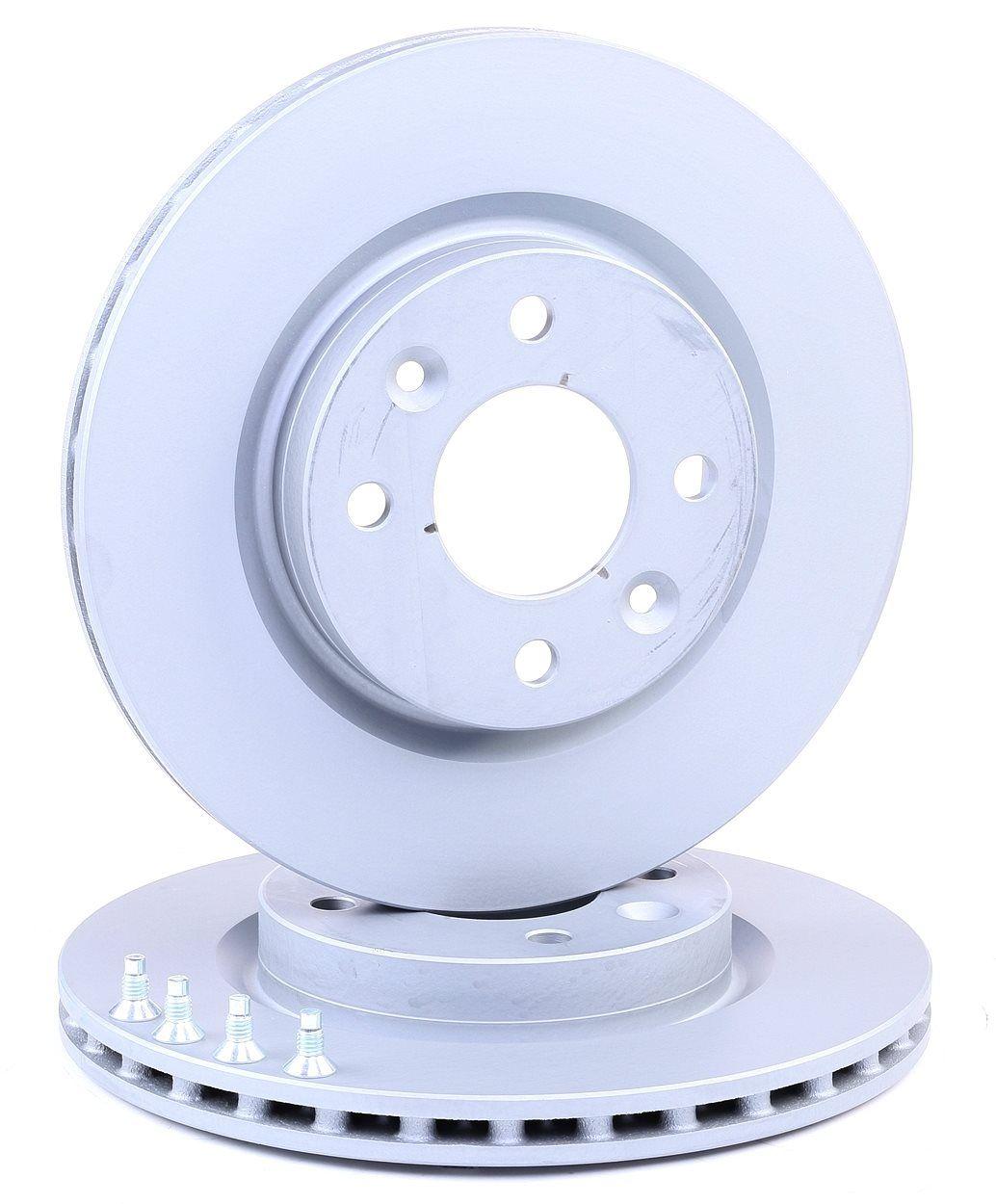 Pirkti 421106 ATE ventiliuojama, padengta, su varžtais Ø: 259,0mm, angų skaičius: 4, stabdžių disko storis: 20,7mm Stabdžių diskas 24.0121-0106.1 nebrangu