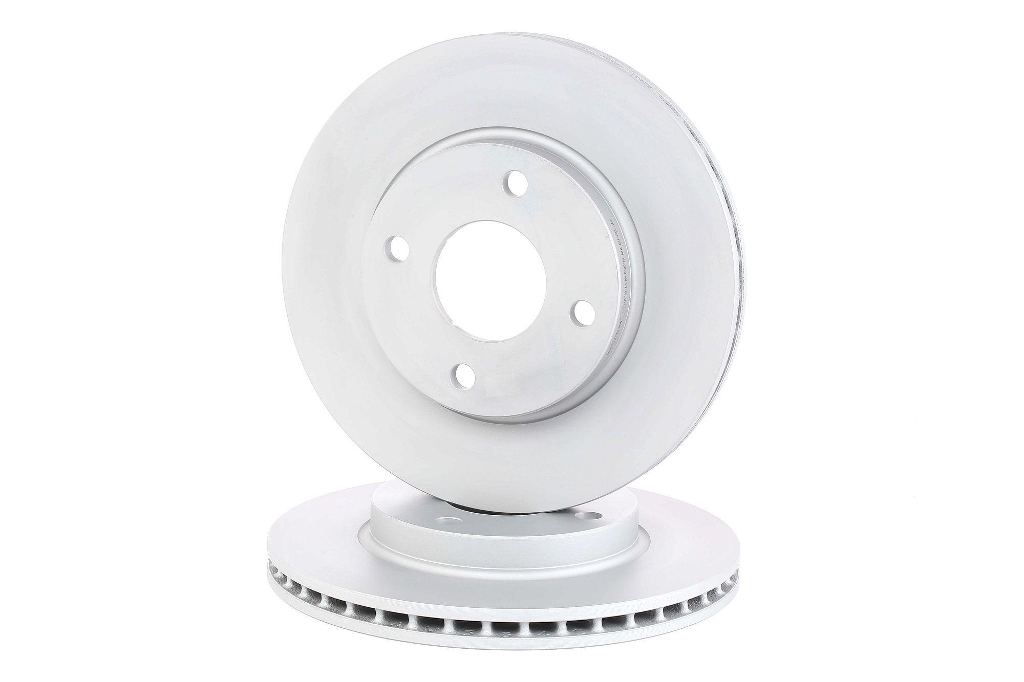 Купете 422172 ATE вентилиран, с покритие Ø: 258,0мм, брой на дупките: 4, дебелина на спирачния диск: 22,0мм Спирачен диск 24.0122-0172.1 евтино