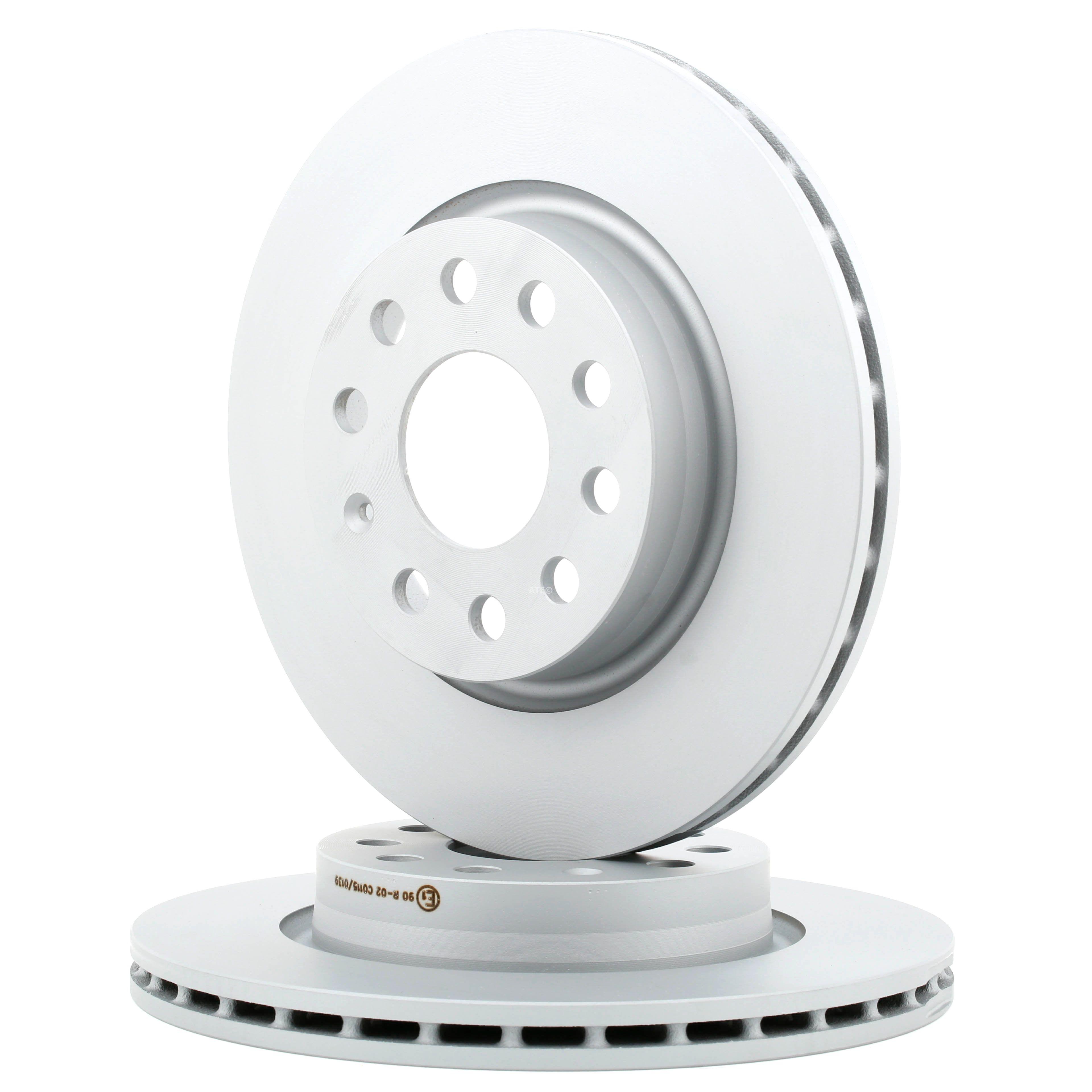 Kit dischi freno 24.0122-0210.1 ATE — Solo ricambi nuovi