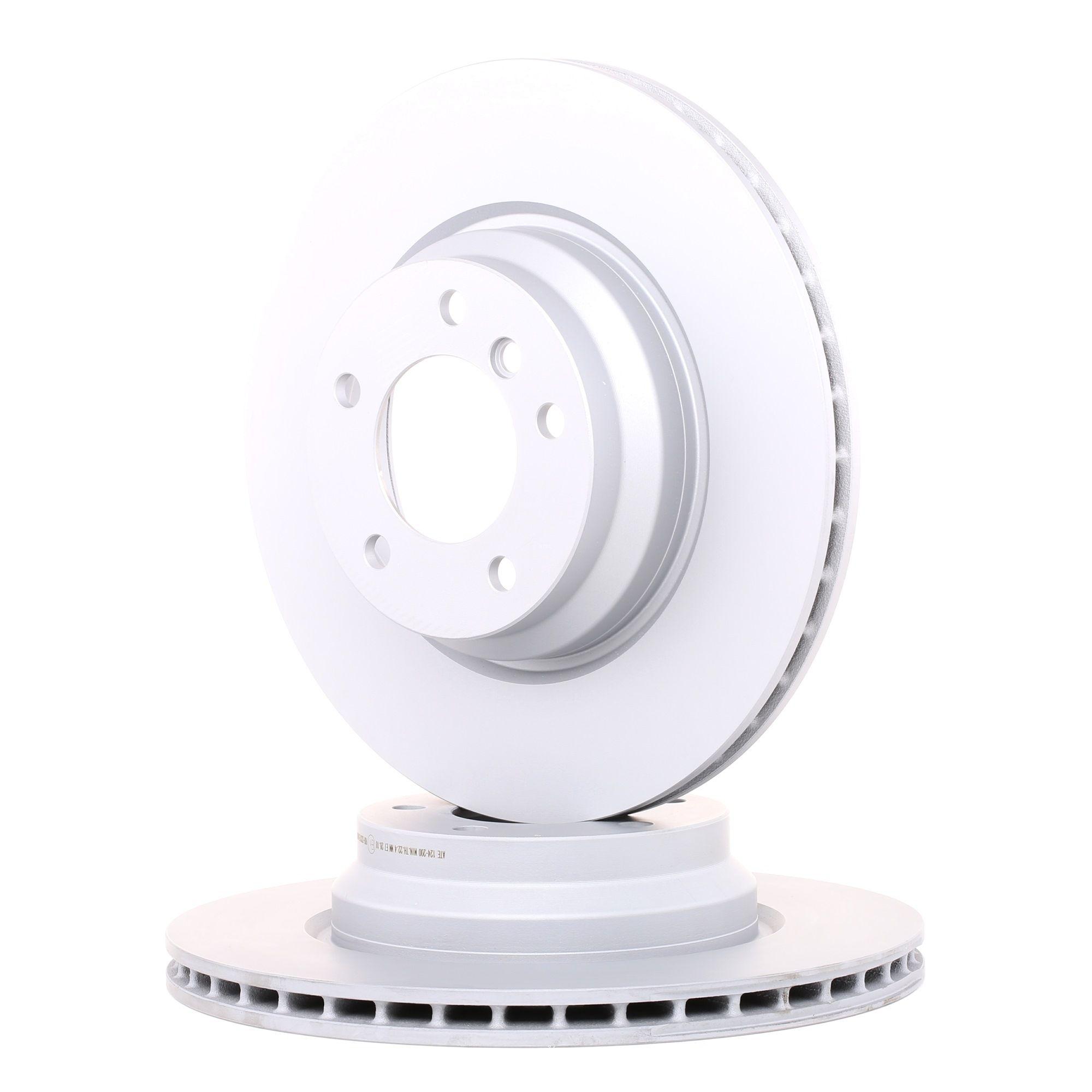 Disques de frein 24.0124-0200.1 ATE — seulement des pièces neuves