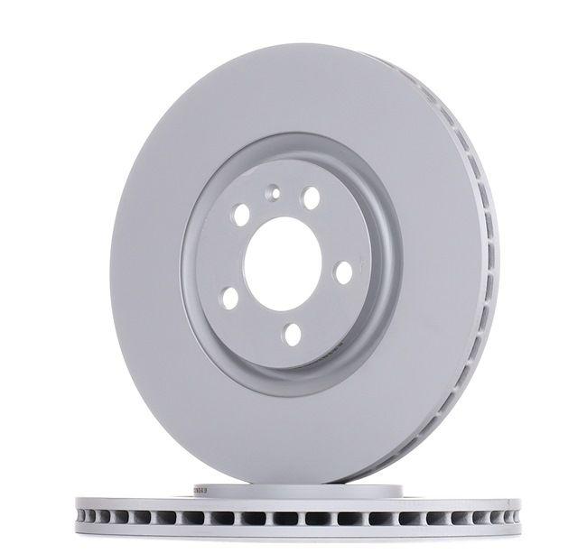 ATE Disco de travão 24.0125-0123.1
