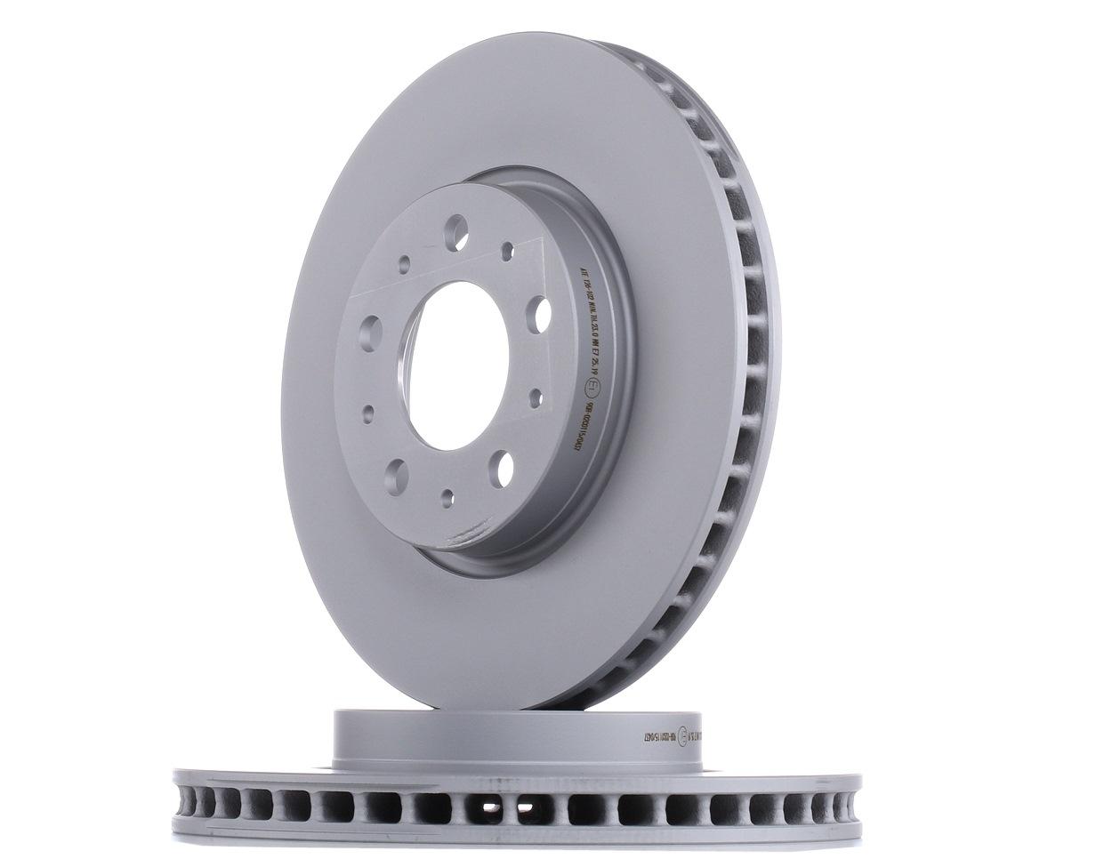 VOLVO S70 2000 Bremsscheiben - Original ATE 24.0126-0102.1 Ø: 280,3mm, Lochanzahl: 5, Bremsscheibendicke: 26,0mm